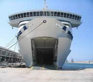Transportes en barcos ro ro